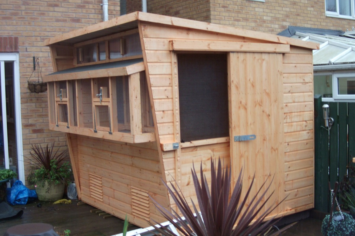 Pigeon Lofts Sheds In