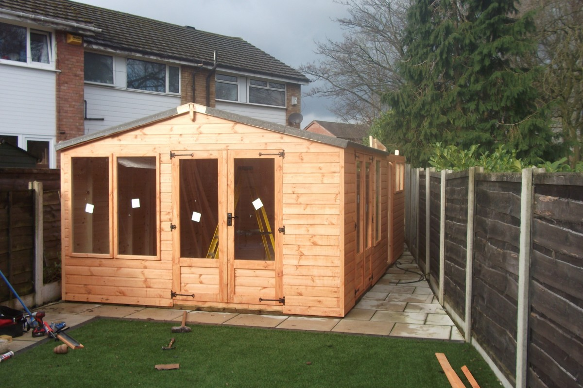 Custom Garden Buildings Sheds In