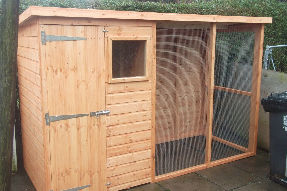 Aviaries Sheds In
